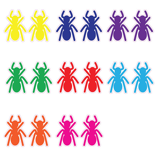 Marching Ants Sensory Stickers